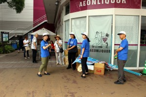 平成29年度食中毒予防街頭キャンペーン